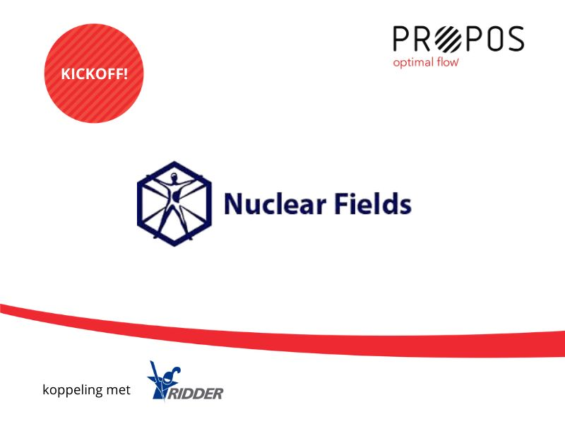 Kick-off PROPOS bij Nuclear Fields: 2-weg koppeling Ridder iQ -